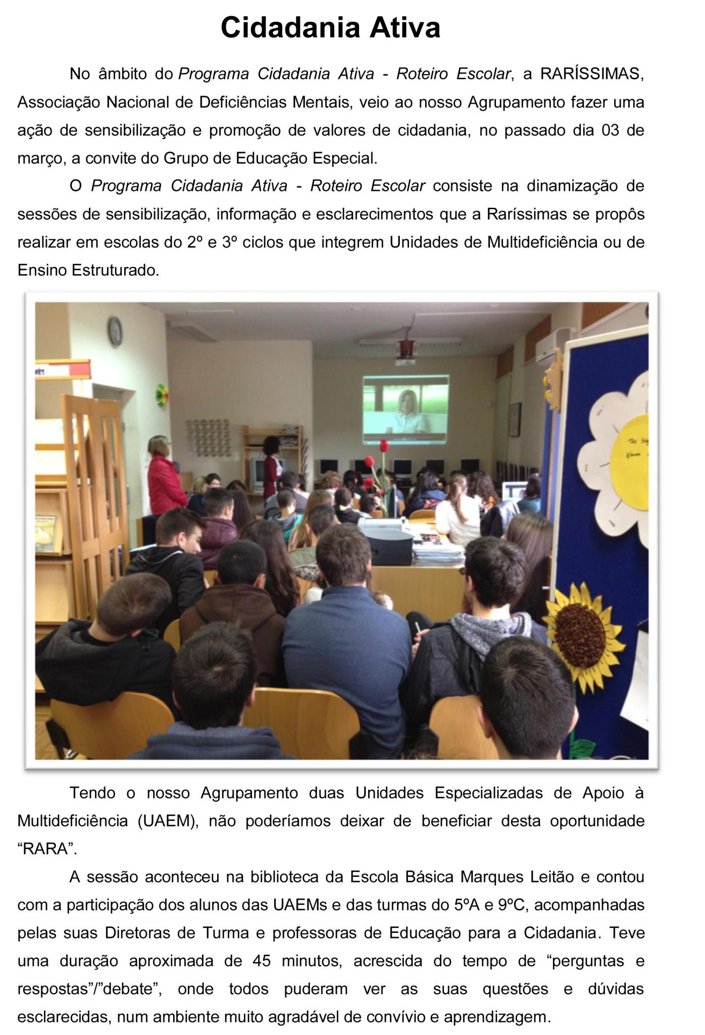 Notícia Raríssimas - 03 de março 2015-1