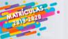 Matículas – Ano letivo 2019/2020