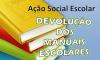 Devolução de Manuais Escolares – Informação aos Encarregados de Educação